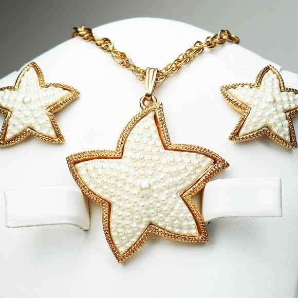 1a8ceb03a Avon Jewelry | Sea Treasures Pearl Starfish Gift Set | Poshmark